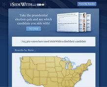 ISideWith.com screenshot