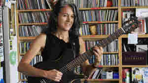 Janet Feder performs a Tiny Desk Concert in June 2012.