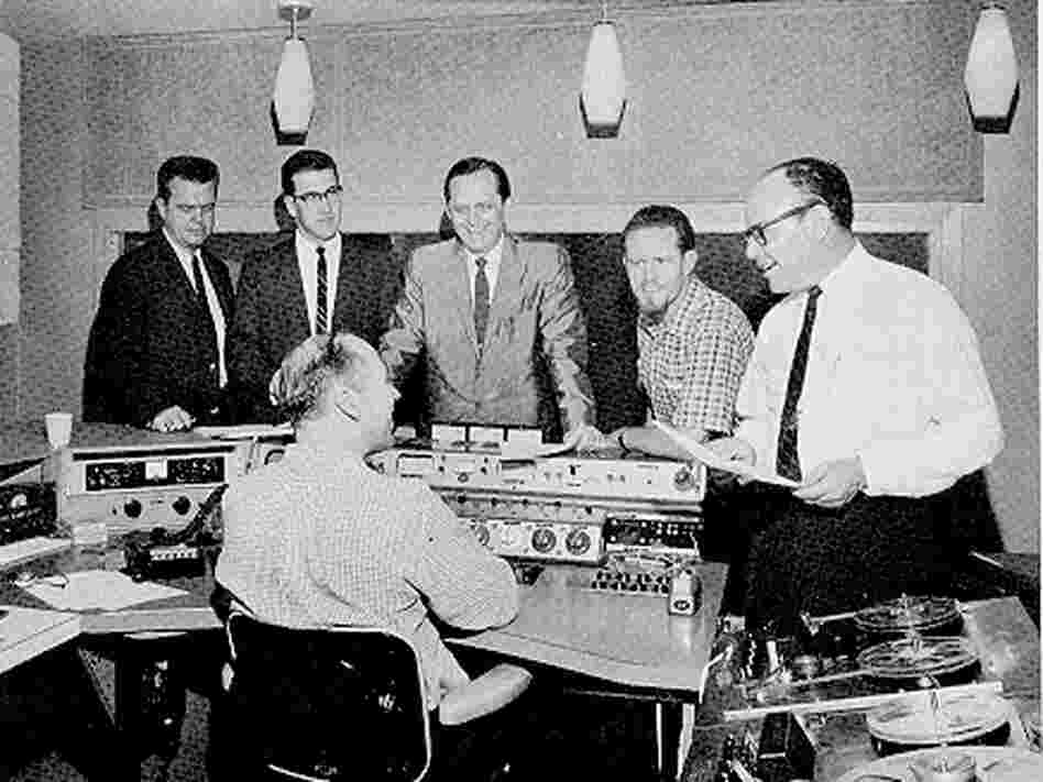 A jingle comes together at Bill Meeks' recording studio in Dallas.