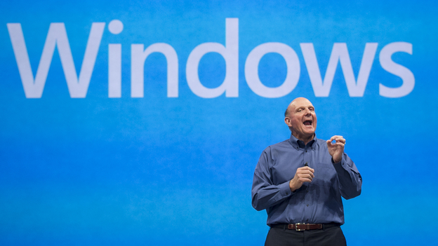 Microsoft CEO Steve Ballmer comments on the Windows 8 operating system before unveiling Surface, a tablet computer to compete with Apple's iPad. (AP)