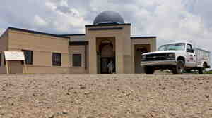 The mosque in Murfreesboro, Tenn., last month when it was still under construction.