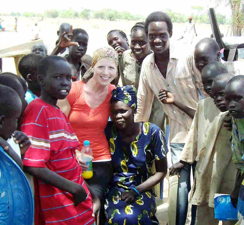 Nancy and Rudwan met in South Sudan, where they were both working. The two married and are expecting their first child. But while Nancy is now home in Oregon, Rudwan is detained in Sudan, facing terrorism charges.