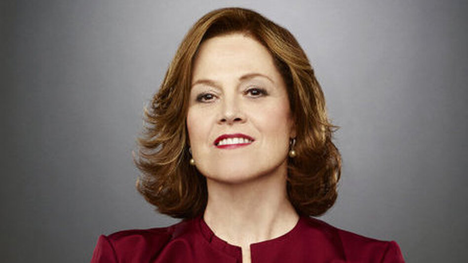 Sigourney Weaver stars as Secretary of State Elaine Barrish in the USA Network miniseries Political Animals. (USA Network)