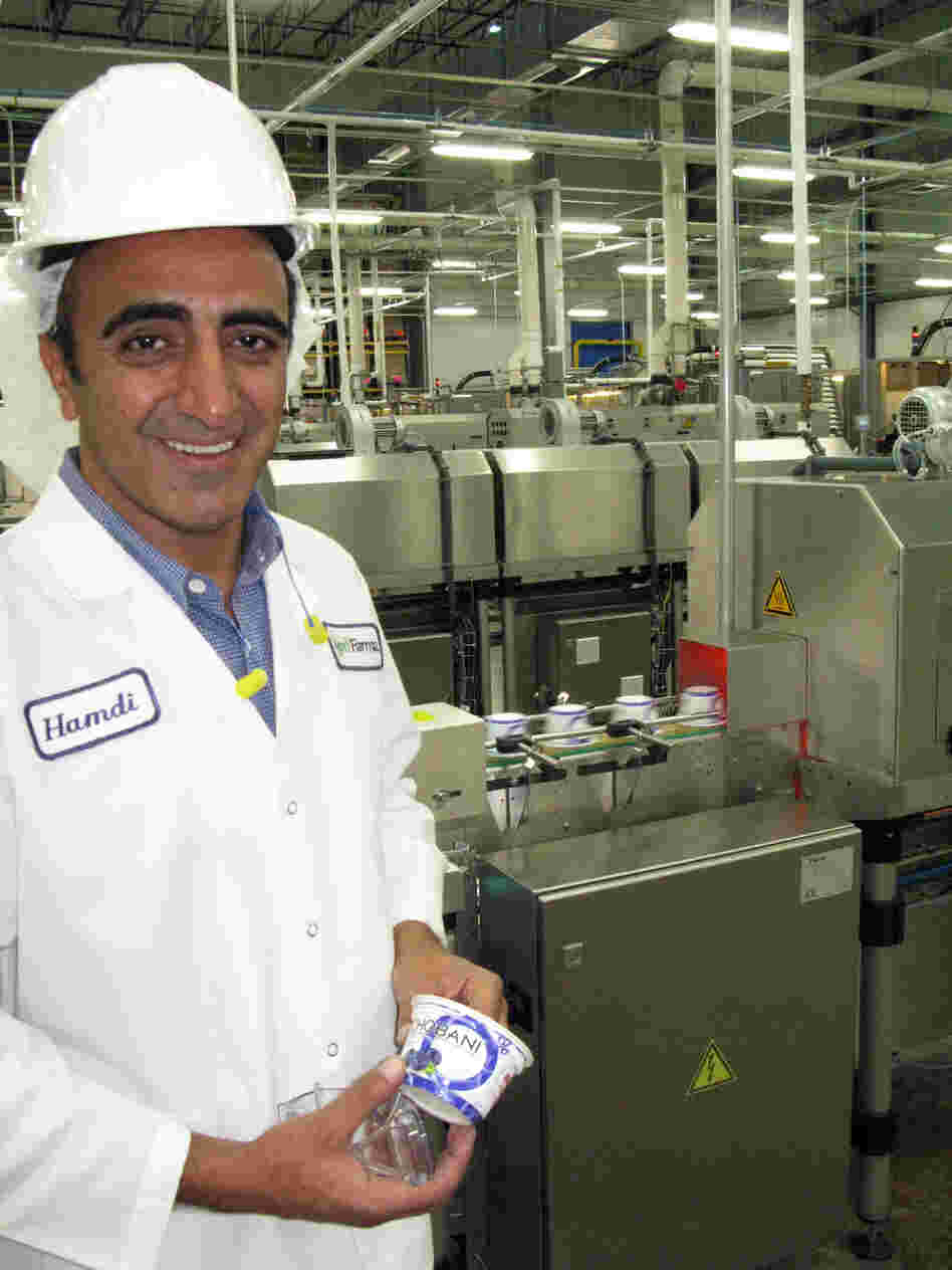 Hamdi Ulukaya, founder of the yogurt company Chobani, says making Greek yogurt using thickening agents is cheating.