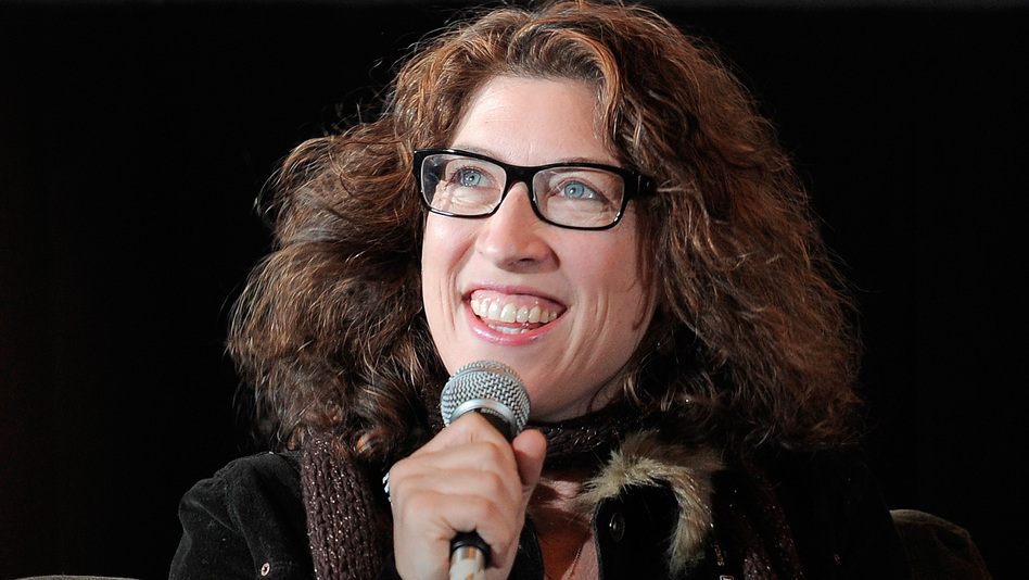 Director Lauren Greenfield, shown here at the 2012 Sundance film festival, filmed her documentary as the Siegels, once on top of the world, progressively fell on harder times. (Getty Images)