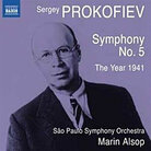 Cover art for Prokofiev Symp