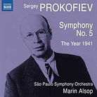Cover art for Prokofiev Symphony No. 5.