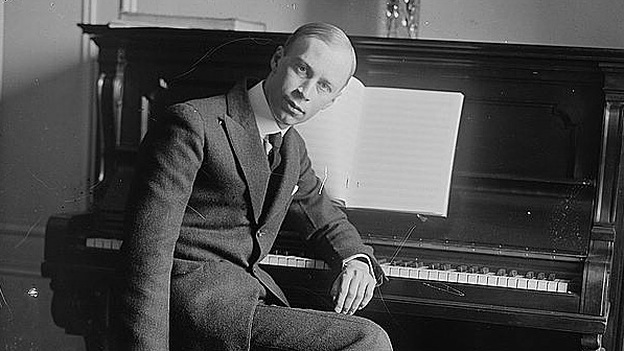 Sergei Prokofiev (pictured) wrote a Fifth Symphony that has special resonance in Sao Paulo for conductor Marin Alsop. (Library of Congress)