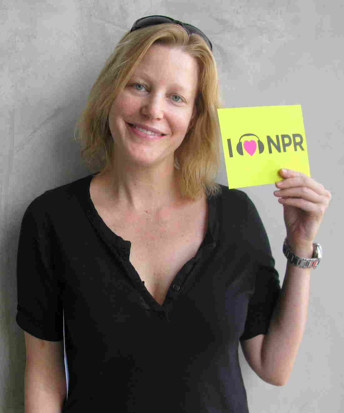 Anna Gunn at NPR West.