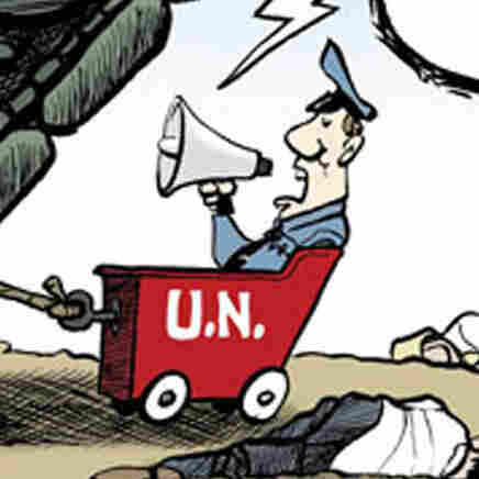 Double Take 'Toons: Death And Dallying In Syria