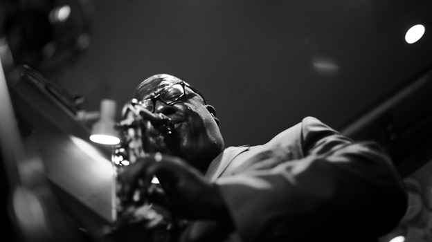Saxophonist Jesse Davis performs at Smalls Jazz Club in New York. (Courtesy of the artist)
