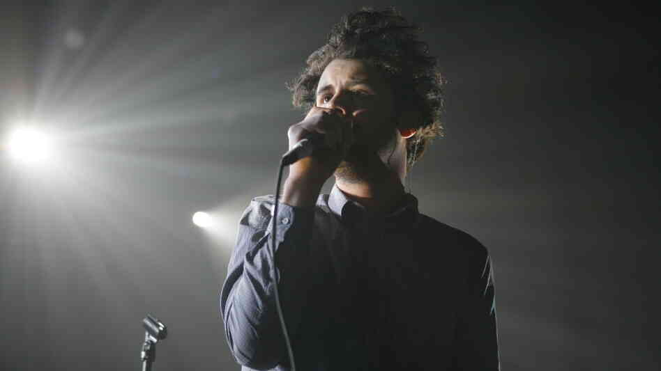 Passion Pit's Michael Angelakos performs at Terminal 5 in New York in 2010. The band's new record, Gossamer, comes out July 24.