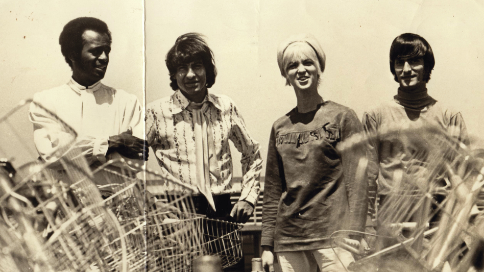 In 1969, Plant and See, a band led by the late Lumbee Indian singer Willie Lowery (second from left), made its only album, a cult classic rereleased this month. (Courtesy of the artist)
