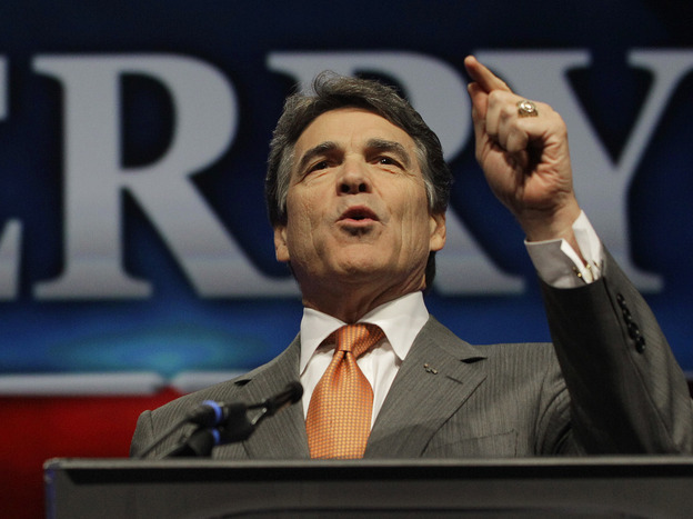 Texas Gov. Rick Perry has opposed the expansion of Medicaid under the Accountable Care Act, and his administration has yet to review big health insurance rate hikes under the law. (AP)