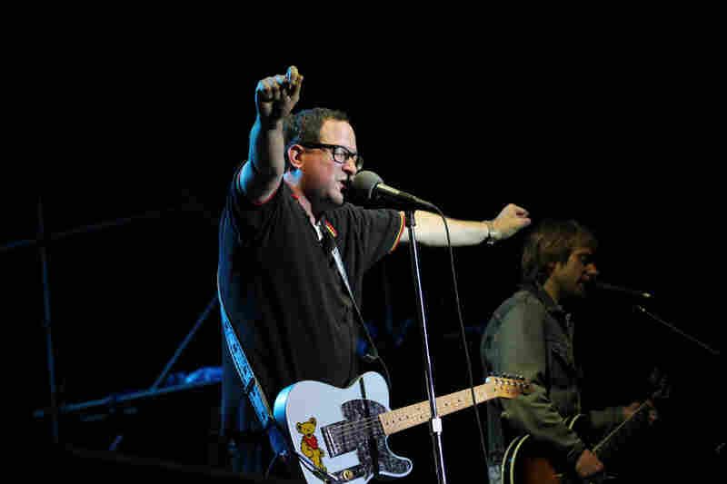 The Hold Steady performs at XPoNential Music Festival 2012 at Wiggins Park in Camden, N.J.