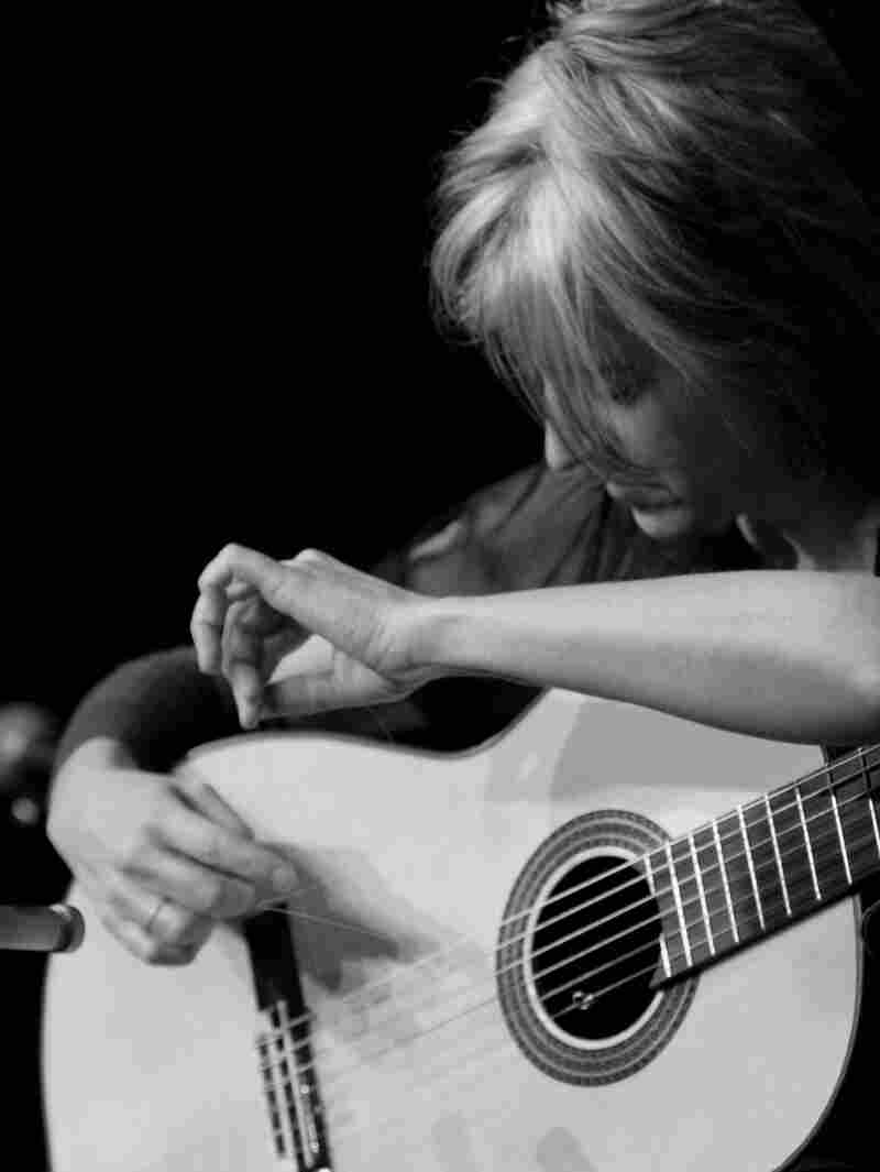Janet Feder built a career on unusual instrumental guitar playing. Her new album, Songs With Words, will feature her singing for the first time.