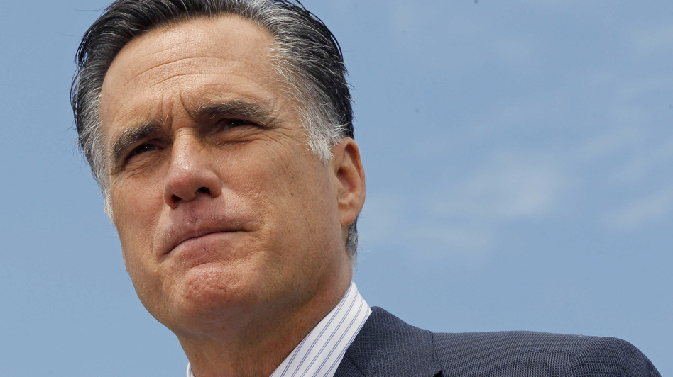 Mitt Romney speaks at a campaign event in Bow, N.H., Friday. The campaigns have released their monthly financial reports, with Romney showing an advantage over President Obama. (AP)
