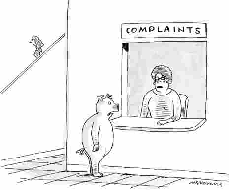 """""""I wish I was taller,"""" was Elaine's caption in the 1998 episode of Seinfeld. Can it get funnier than that? You can try over on The New Yorker's Caption Contest page."""