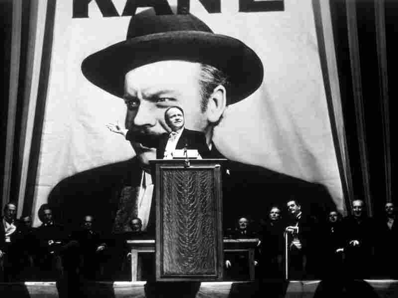 Citizen Kane was Orson Welles' first film and consistently tops lists as the best film of all time.