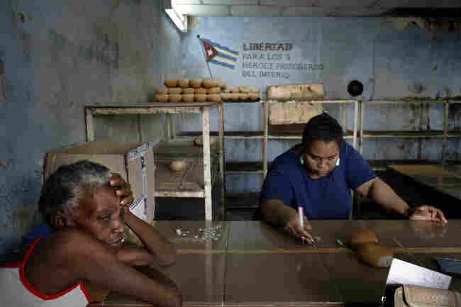 A bakery in Havana, Cuba, August 2006.