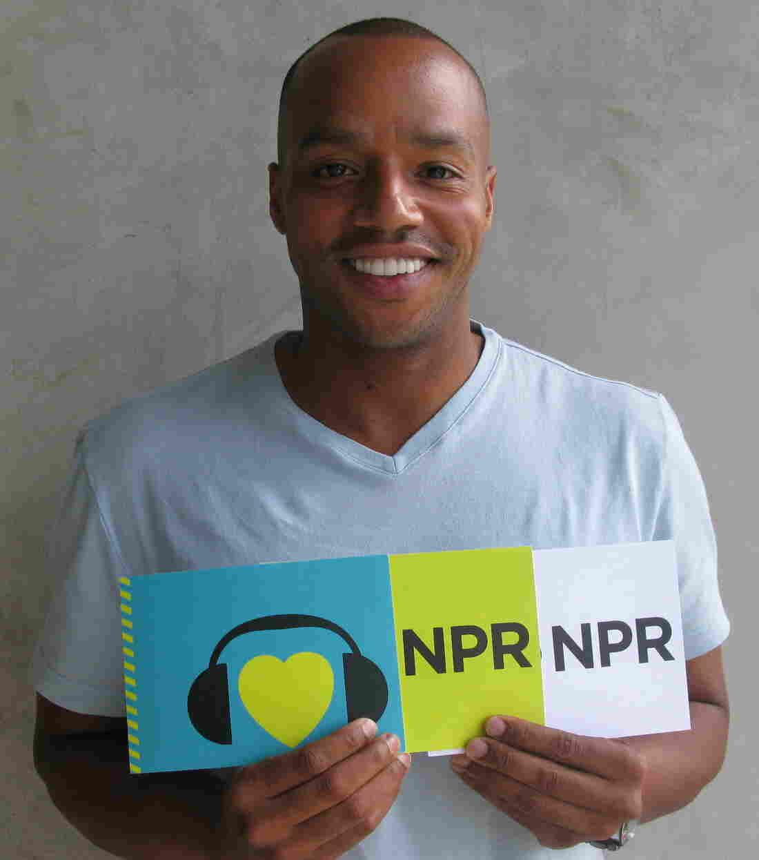Donald Faison at NPR West