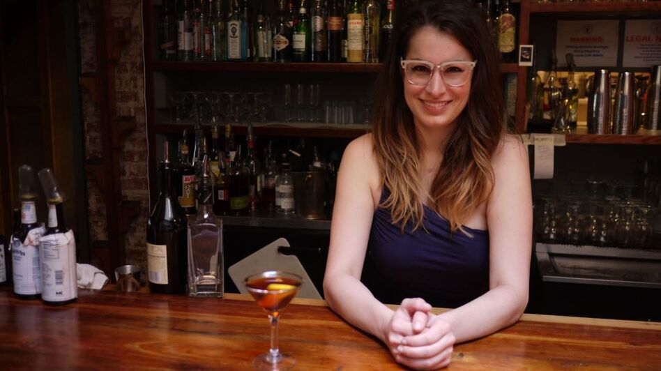 Alexandra Bookless, head bartender at The Passenger, suggests starting off with Fernet in a cocktail like the Hanky Panky. (NPR )