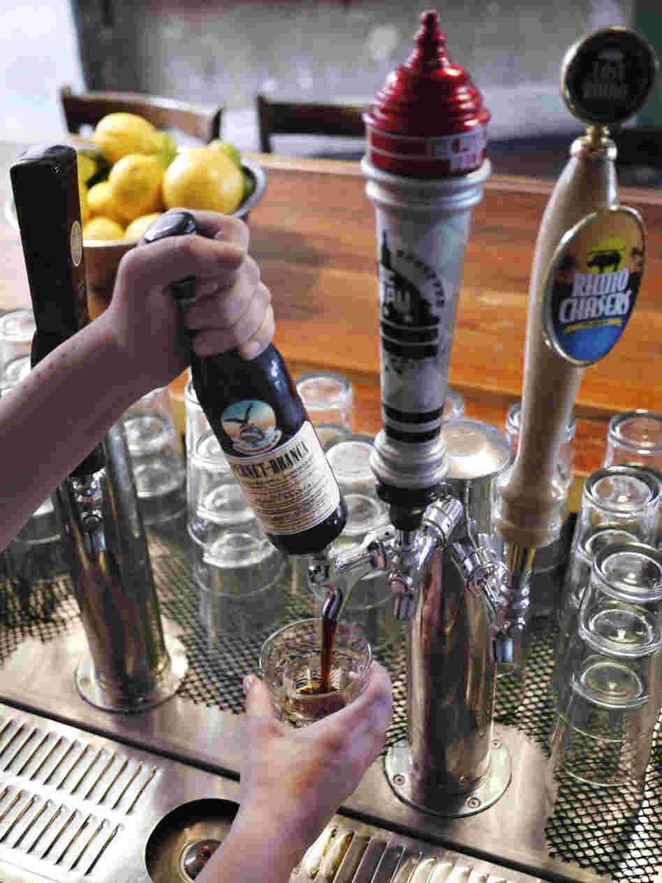D.C. bar, The Passenger serves Fernet Branca on tap.