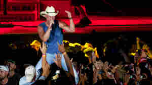 Kenny Chesney onstage during the kickoff show for the Brothers of the Sun Tour in Tampa in June.