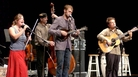 Nickel Creek performs on Mountain Stage.