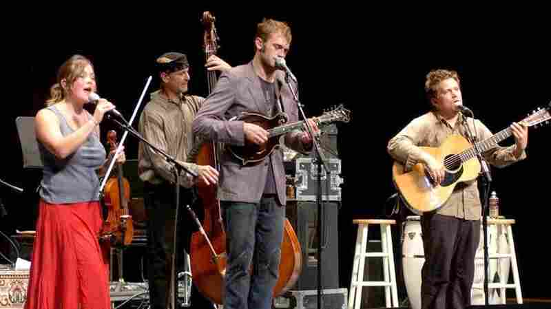 Nickel Creek On Mountain Stage