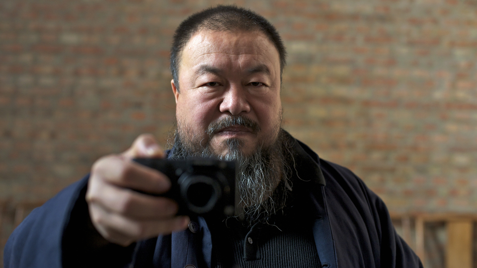 Ai Weiwei is one of the biggest stars of the international art world, but Alison Klayman's documentary Ai Weiwei: Never Sorry focuses more on the significance of his politics than of his artwork. (IFC Films)