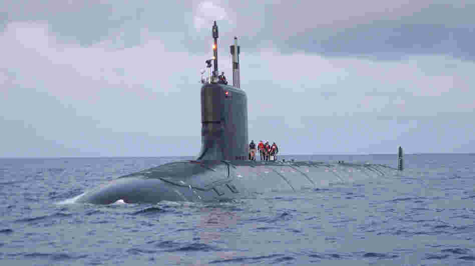 The Defense Department planned to buy two Virginia-class submarines, like the USS Virginia, per year. A 10 percent across-the-board cut would fund only 1.8 submarines, making the purchase impossible.