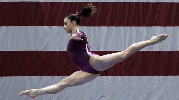 Know who this gymnast is? You will soon. Seventeen-year-old Jordyn Wieber will compete for the U.S. women's gymnastics team in the 2012 London Olympics. (AP)