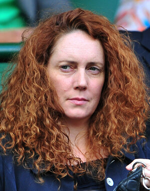 Rebekah Brooks, who has now been charged in the phone hacking scandal.