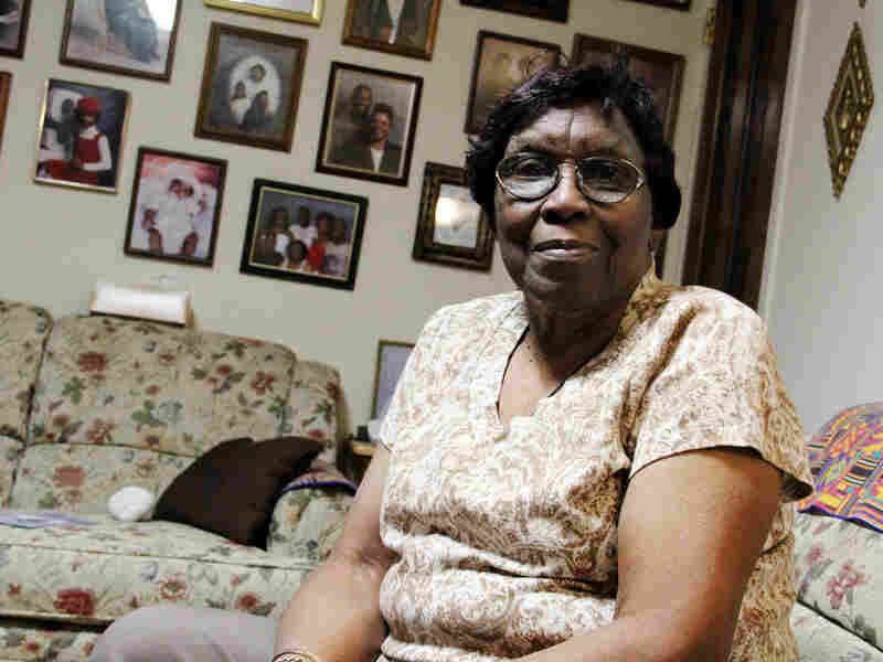 Hazel Miller's home is located about 100 feet from I-81. She moved into the Pioneer Homes, a low-rise public housing project, 40 years ago, when houses were still being ripped down to make room for the highway.