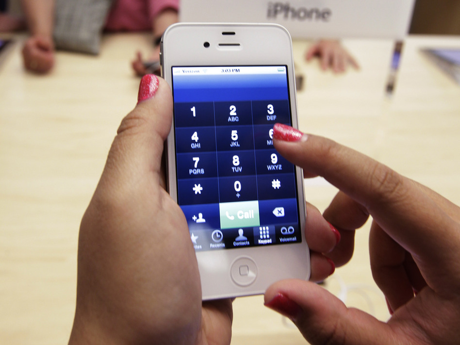 Apple reported lower-than-expected third-quarter revenues, numbers partly blamed on slower iPhone sales. (AP)