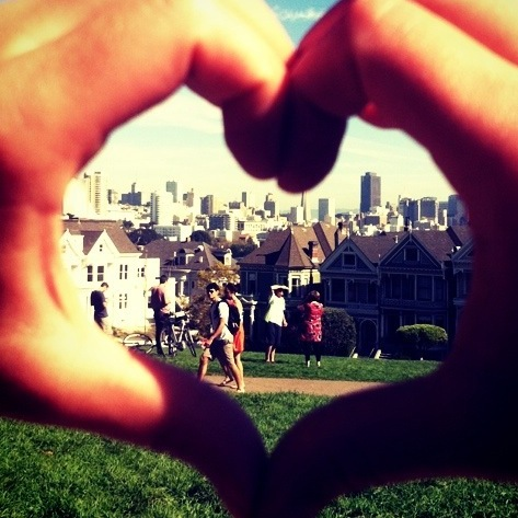 Raquel Chaffee shows the heart of her city, San Francisco.