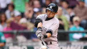 Now batting for the Yankees, Ichiro Suzuki.