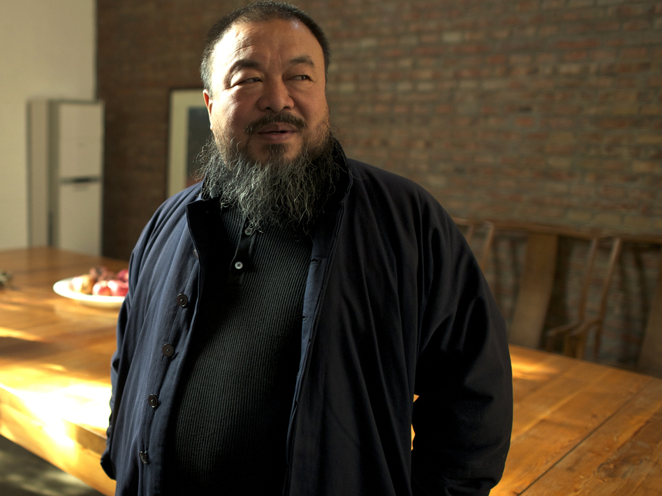 The famous Chinese artist Ai Weiwei is also a prominent dissident in his home country. His political side is the focus of Alison Klayman's documentary <em>Ai Weiwei: Never Sorry</em>.