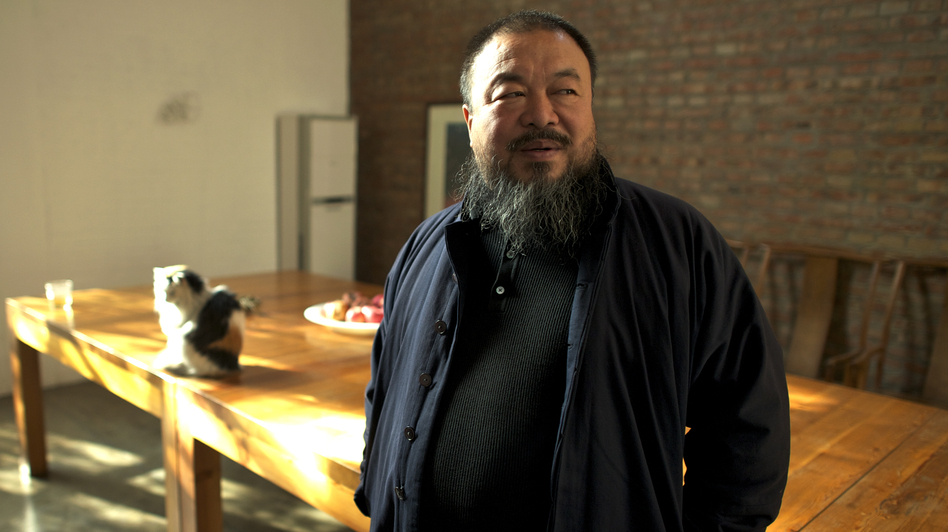 The famous Chinese artist Ai Weiwei is also a prominent dissident in his home country. His political side is the focus of Alison Klayman's documentary Ai Weiwei: Never Sorry. (IFC Films)