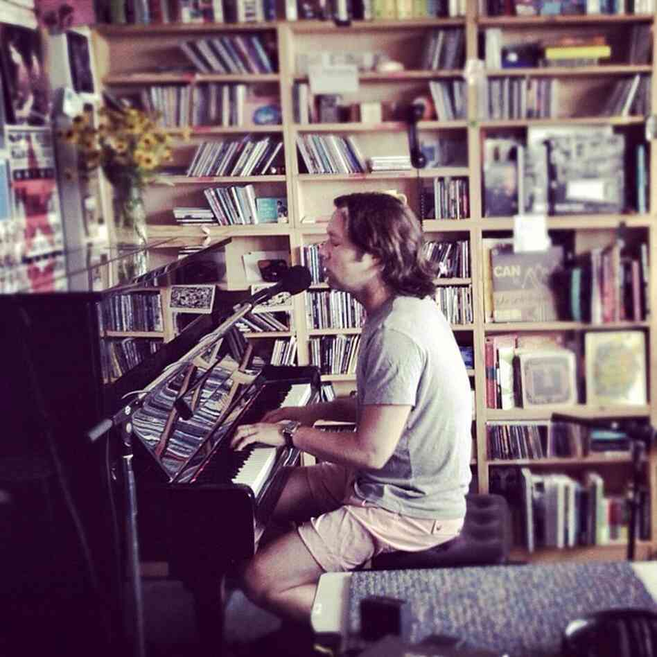 Rufus Wainwright performs a Tiny Desk Concert at the NPR Music offices.