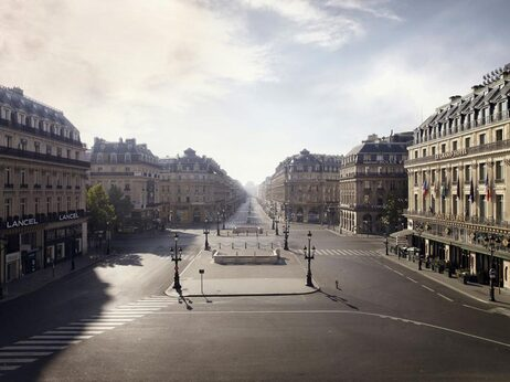Place de l'Opera, Paris, 2009