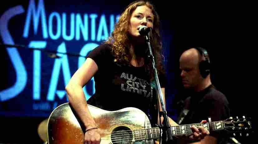 Kathleen Edwards performs on Mountain Stage.