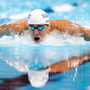 Endurance athletes like Michael Phelps, here at the 2012 U.S. Olympic Swimming Team Trials in Omaha, can easily burn off stacks of pancakes.