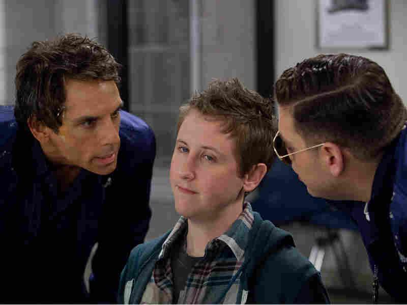 Evan and Franklin interrogate a local skater kid (Johnny Pemberton).