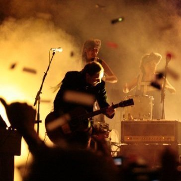Sigur Ros performs live in Tepoztlan, Mexico.