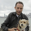 """Timothy Ray Brown, shown in May 2011 with his dog Jack in San Francisco, is the only man ever known to have been fully cured from AIDS. Brown is known as the """"Berlin patient"""" because he had a bone marrow transplant in a German hospital five years ago."""
