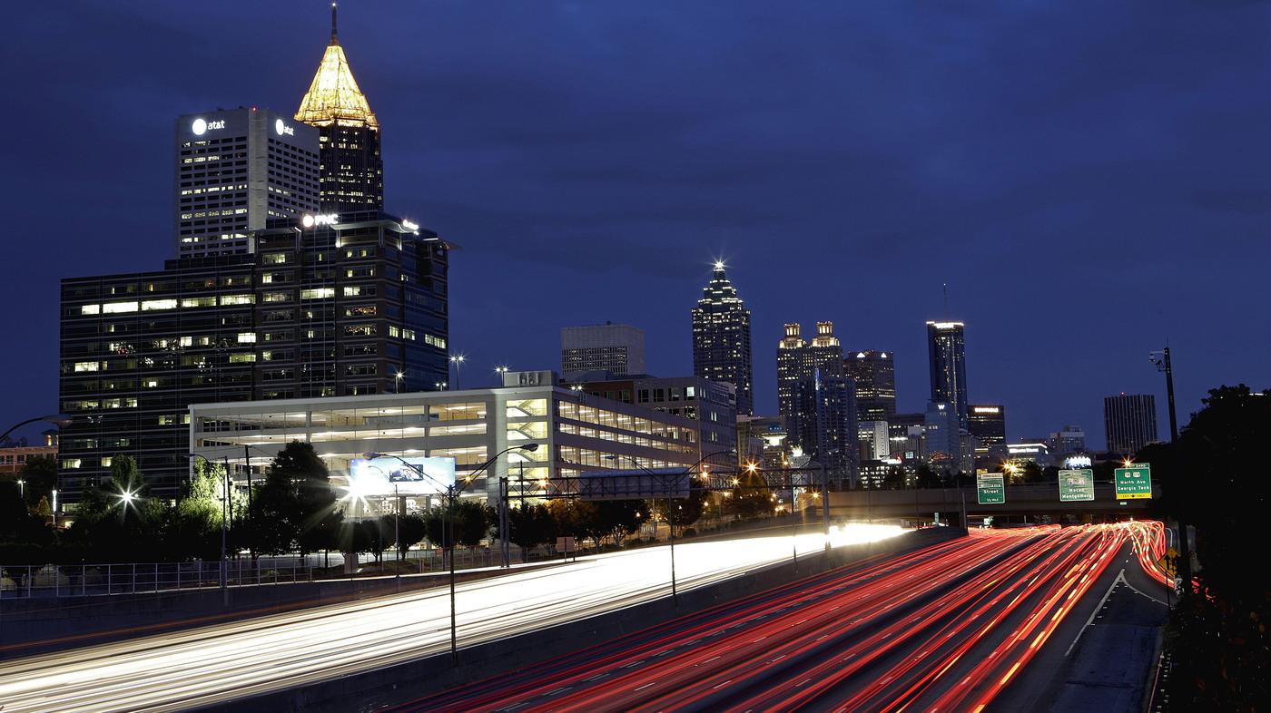 Writer Has A Down Home Feel For Atlantas Dark Side NPR