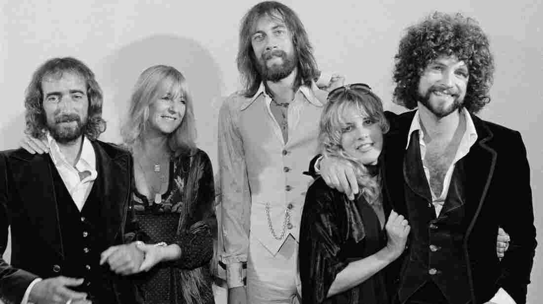 Fleetwood Mac's 1976, Rumours-era lineup featured John McVie, Christine McVie, Mick Fleetwood, Stevie Nicks and Lindsey Buckingham.