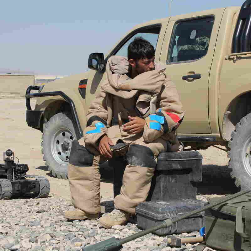 Disarming Afghan IEDs: Big Job, Too Few Trained